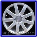 Audi A4 2005 Wheels & Rims Hollander #58773 #Audi #A4 #AudiA4 #2005 #Wheels #Rims #Stock #Factory #Original #OEM #OE #Steel #Alloy #Used