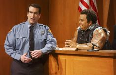 Rob Riggle as the Baliff in City Court