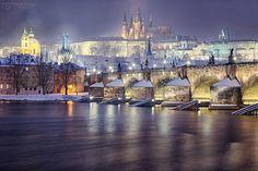 https://flic.kr/p/Ch1neZ | Prague - Charles Bridge -HDR