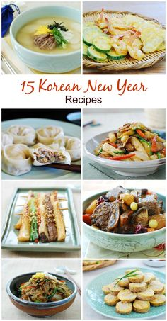 Celebrate the New Year with these traditional Korean dishes!