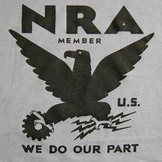NRA SHIRT  for the economic crisis von garageprint auf Etsy, $26,00