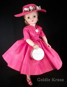 Gorgeous Vintage Madame Alexander Cissy Doll in Rare Tagged Outfit