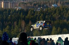 Find the best photos of the teams driving a MINI John Cooper Works WRC at the Rally Sweden 2012 here.