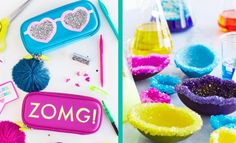 Looking for some fun and easy DIY ideas and crafts for teens to make this summer? You never have to be bored again with this cool list of fun and easy projects. Cheap room decor, simple accessories and photo ideas, we have cool projects for everyone. Get out your craft supplies and get ready to make