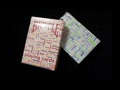 Bicycle Table Talk Playing Cards Video Review. #playingcards #poker #Games #Magic