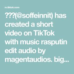 Itsu, Rasputin, My Dream Team, Humor, Music, Funny, Minecraft, Explore, Big