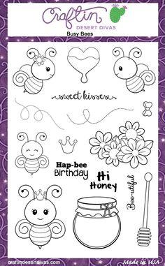 Busy Bees - Craftin Desert Divas