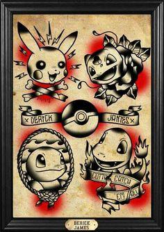 Old school Pokémon