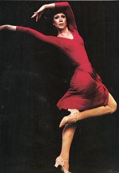 Donna McKecknie as Cassie in A Chorus Line.