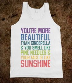 You're More Beautiful Bridesmaids Quote (Tank) - Ladies & Gentlewoman - Skreened T-shirts, Organic Shirts, Hoodies, Kids Tees, Baby One-Pieces and Tote Bags