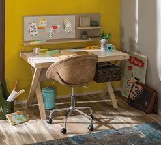 Loft bureau stoel tienerkamer kinderkamer bruin inspiratie kinderkamer, inspiratie tienerkamer, inspiratie jongenskamer, inspiratie meidenkamer, by mm store Loft, Drafting Desk, Office Desk, Corner Desk, Modern Bureau, Chair, Furniture, Home Decor, Products
