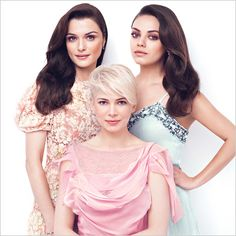 Oz the Great and Powerful's lead actresses - Rachel Weisz, Michelle Williams, and Mila Kunis