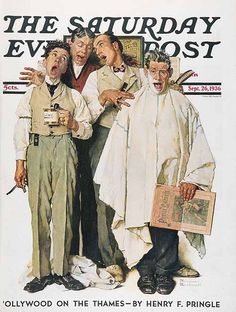 The Saturday Evening Post-Norman Rockwell
