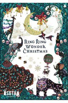 伊勢丹が贈るクリスマスファンタジー。                                                                                                                                                                                 もっと見る