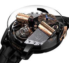 オルゴールが鳴る? La Cote des Montres : La montre Opera by Jacob & Co. - Une boîte à musique et un mouvement de montre-bracelet Elegant Watches, Stylish Watches, Luxury Watches For Men, Fine Watches, Men's Watches, Cool Watches, Unique Watches, Affordable Watches, Vintage Watches