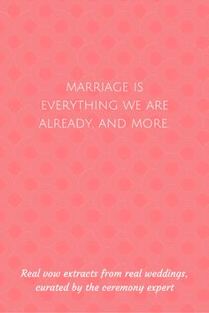 This statement is so perfect and so true. So many of us are already in committed, solid, loving relationships before we are married, a relationship which continues to blossom well into marriage. Marriage is not going to change who you are and what you already have, it simple confirms it, celebrates it and champions all that you are, as the team that you already are.