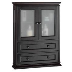 Bathroom wall cabinets wall cabinets and bathroom wall on pinterest - Foremost berkshire espresso bathroom wall cabinet ...