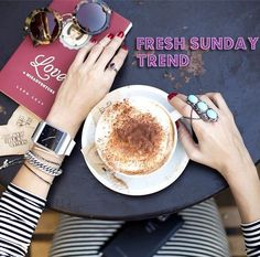 It´s Sunday!! Do you want to know which style is It´s Sunday!! Do you know which is the perfect look for Sunday? Here is a guide in how to look relax but chic!!  http://blog.treschicrose.com/2015/05/shopping-trend-fresh-sunday.html  #fashion #beauty #style #rings #shoes #tennis #treschicrose #tops #hairstyles #hair #fashionblogger #hairtrend #trend #beautyblogger #trendy #royal