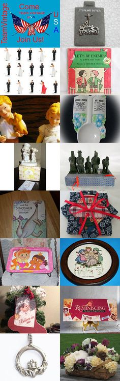 Come Make Some New Friends at teamvintageusa by Sue on Etsy--Pinned with TreasuryPin.com