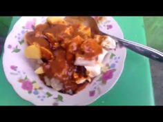 Yogyakarta Street Food, Modified fishball or Siomay Indonesia - YouTube