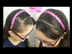 Bows Headband With Ribbons Braided Hairstyles Braided Ribbon Hairstyle, Ribbon Braids, Braided Bun Hairstyles, Cool Hairstyles For Men, Natural Hairstyles For Kids, Hairstyles Haircuts, Amazing Hairstyles, Straight Hair Waves, Curling Thick Hair