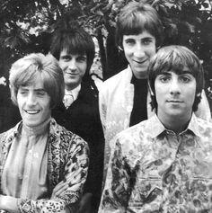 The Who. Pete Townshend, John Entwistle, Keith Moon, Roger Daltrey.