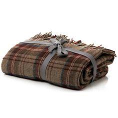 Checked Tweed Throw   Dunelm