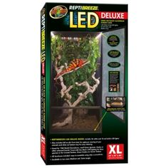 Reptibreeze Led Dlx Cage Xlrg (24X24X48 SCREEN CAGE)