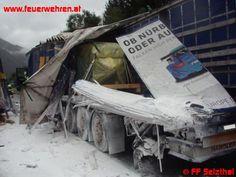 LKW-Unfall auf der A9 #feuerwehr #firefighter #austria