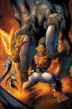 Fantastic Four by Mark Bagley