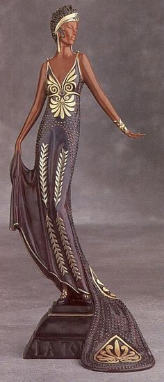 "THE ROARING TWENTIES SOIREE --:: ""La Tosca"" by Erte (Bronze) ::"