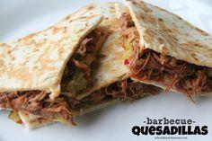Dinner Tonight: BBQ Quesadillas