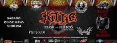"""Cresta Metálica Producciones » Frank Garden Bar presenta: """"Tributo a Kittie: Flor de Jericó"""" (Caracas) // 23 Mayo 2015"""