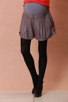 Tuck Design Maternity Short Pants $61.25