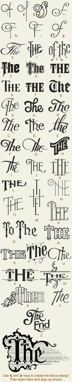 Creative Typography, Great, Fonts, Type, and Lettering image ideas & inspiration on Designspiration Calligraphy Letters, Typography Letters, Vintage Typography, Typography Quotes, Vintage Logos, Retro Logos, Schrift Design, Typographie Inspiration, Poster Design