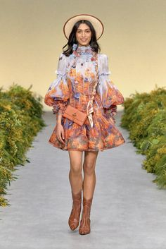 Zimmermann Fashion News, Latest Fashion, Fashion Beauty, Fashion Show, Ready To Wear, Celebrity Style, Cold Shoulder Dress, Runway, Hipster