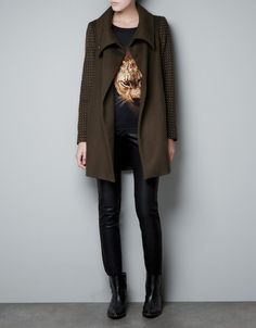 A nice wintercoat from Zara.
