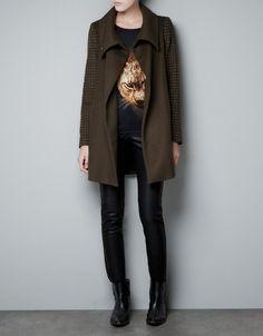 A nice wintercoat from Zara.
