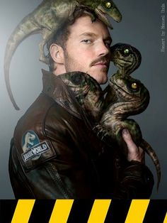 If Chris Pratt doesn't have raptor friends in Jurassic World, then I'm going to be MOST disappointed