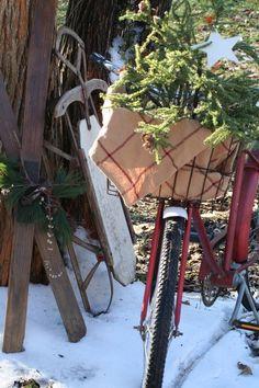paint my decorative bike a deep red?