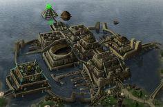 Concept Art of Vivec City | TESRenewal: Morroblivion, Skywind, Skyblivion