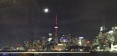 Moon over Toronto