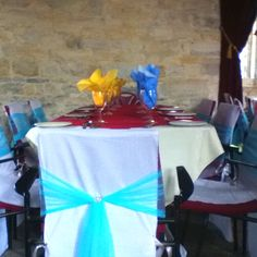 Chair Covers and Tulle