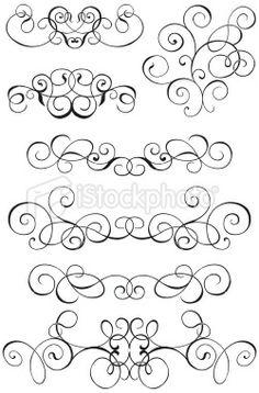 decorative lines large image
