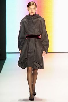 Carolina Herrera Fall 2011 RTW #coat #dress