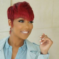 """Arianna Garcia on Instagram: """"#Throwback to the first time I glammed @monicabrown ❤ #CodeRed """""""