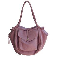 Handmade leather bag, via iyiamihandbags on Etsy.