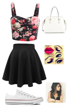 Summer by lhe02 on Polyvore featuring polyvore, fashion, style, Converse and Kate Spade