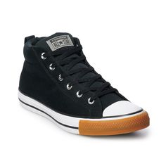 Men s Converse Chuck Taylor All Star Street Mid Sneakers 139667067