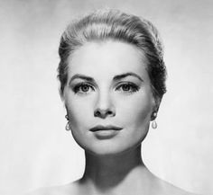 "Grace Kelly ~ With her white gloves and string of pearls, this classic beauty was sometimes described as ""virginal.""  Most known for: ""Dial M for Murder,"" ""Rear Window,"" princess of Monaco.   Husband: Prince Rainier III of Monaco"